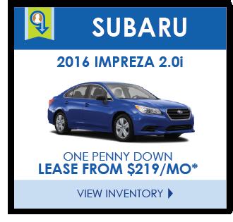 Subaru Leases